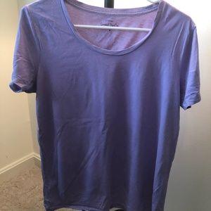 J.Crew Purple T-Shirt - Size S